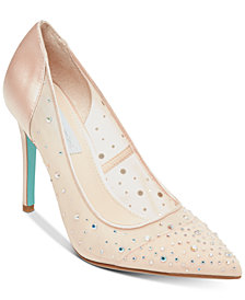 Blue by Betsey Johnson Rubie Evening Pumps
