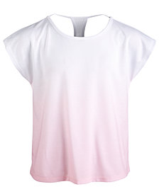 Ideology Big Girls Ombré T-Shirt, Created for Macy's
