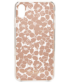 kate spade new york Floret Clear iPhone X Plus Case