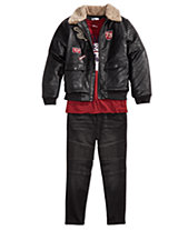 Epic Threads Big Boys Jacket, Graphic T-Shirt   Jeans, Created for Macy s f9695f8153