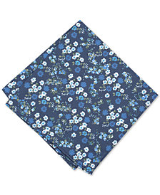 Bar III Men's Garside Floral Pocket Square, Created for Macy's