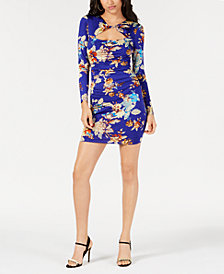 GUESS Joslyn Twisted Keyhole Bodycon Dress