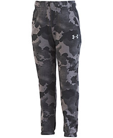 Under Armour Little Boys Traverse Camo-Print Jogger Pants