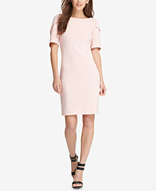 DKNY Puff-Sleeve Sheath Dress, Created for Macy's