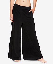 Gaiam X Jessica Biel Delancey Velour Wide-Leg Pants