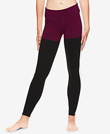 Gaiam X Jessica Biel Colorblocked Ankle Leggings