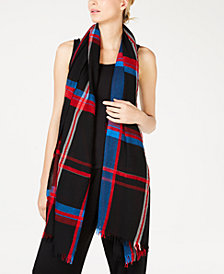 Eileen Fisher Plaid Scarf
