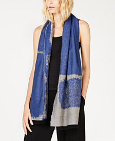 Eileen Fisher Organic Cotton Printed Scarf