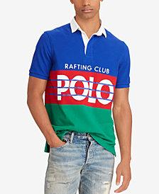 Polo Ralph Lauren Men's Hi Tech Colorblocked Classic Fit Rugby Polo Shirt