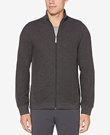 Perry Ellis Men's Regular-Fit Full-Zip Sweater