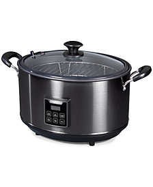 Presto® Indoor Electric Smoker and Slow Cooker