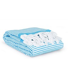 Soft Stripes Pestemal Beach Towel