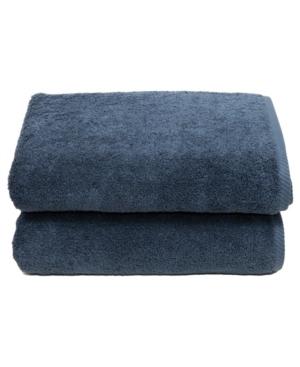 Linum Home Soft Twist 2-Pc. Bath Towel Set Bedding