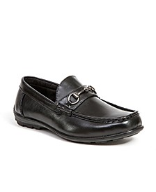 Little and Big Boys Latch Driving Moc Style Dress Comfort Loafer