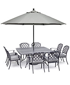 Grove Hill II Outdoor Dining Collection, with Sunbrella® Cushions, Created for Macy's