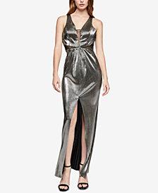 BCBGeneration Strappy Cowl-Back Maxi Dress