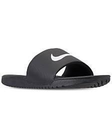 2b3fff117 Nike Men's Kawa Slide Sandals from Finish Line & Reviews - Finish ...