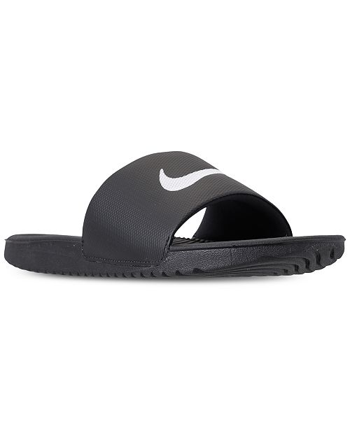 79d35582c97c Nike Men s Kawa Slide Sandals from Finish Line   Reviews - Finish ...