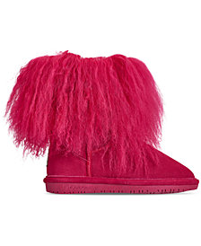 Bearpaw Little Girls' Boo Boots from Finish Line