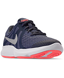 Nike Girls' Revolution 4 (GS) Running Sneakers from Finish Line