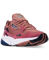 38c93313d67 adidas Women s Originals Falcon Suede Casual Sneakers from Finish Line