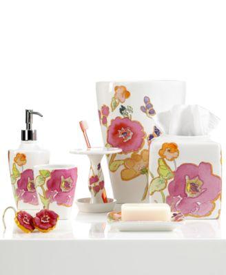 Lenox Bath Accessories, Floral Fusion Collection