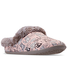Skechers Women's Bobs For Cats Beach Bonfire - Cuddle Kitties Slip On Casual Shoes from Finish Line