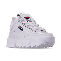 Fila Mens Disruptor II Casual Athletic Sneakers Deals