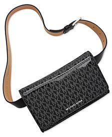MICHAEL Michael Kors Shiny Logo Belt Bag