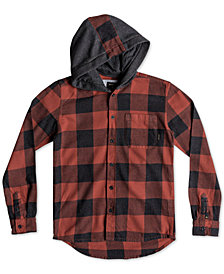 Quiksilver Little Boys' Motherly Hooded Shirt