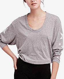 Free People FP Movement Melrose Star-Graphic Top