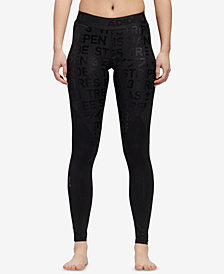 adidas Alphaskin ClimaLite® Metallic-Print Leggings
