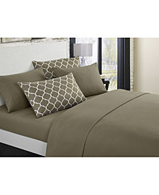 Chic Home Illusion 4-Pc Twin Sheet Set