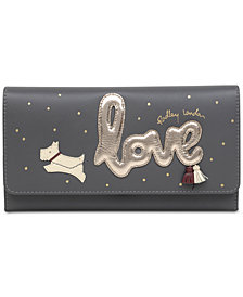 Radley London Love is in the Air Flapover Matinee Wallet