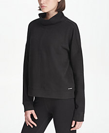 DKNY Sport Cotton Turtleneck, Created for Macy's