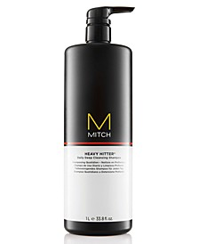 Mitch Heavy Hitter Deep Cleansing Shampoo, 33.8-oz., from PUREBEAUTY Salon & Spa