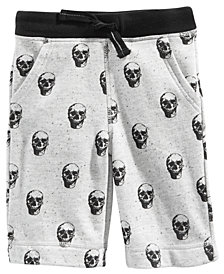 Epic Threads Little Boys Skull Shorts, Created for Macy's