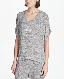 DKNY Spa Melangé Top, Created for Macy's