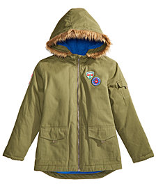 Epic Threads Big Boys Patch Anorak Jacket, Created for Macy's