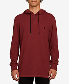 Volcom Men's Murphy Thermal Button Hoodie