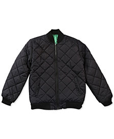 LRG Men's Research Quilted Bomber Jacket