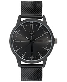 I.N.C. Men's Stainless Steel Mesh Bracelet Watch 45mm, Created for Macy's