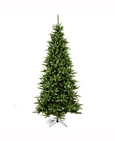 Vickerman 6.5 ft Camdon Fir Slim Artificial Christmas Tree Unlit