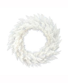 48 inch Sparkle White Spruce Artificial Christmas Wreath Unlit