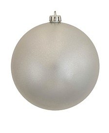 "12"" Silver Candy Ball Christmas Ornament"