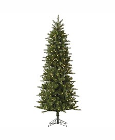 Vickerman 9 ft Carolina Pencil Spruce Artificial Christmas Tree With 500 Clear Lights