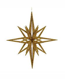 "Vickerman 24"" Gold Iridescent Star Christmas Ornament"