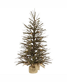 Vickerman 30 inch Vienna Twig Artificial Christmas Tree
