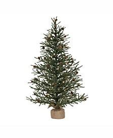 42 inch Carmel Pine Artificial Christmas Tree