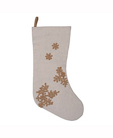 Vickerman Decorative Christmas Stocking Featuring